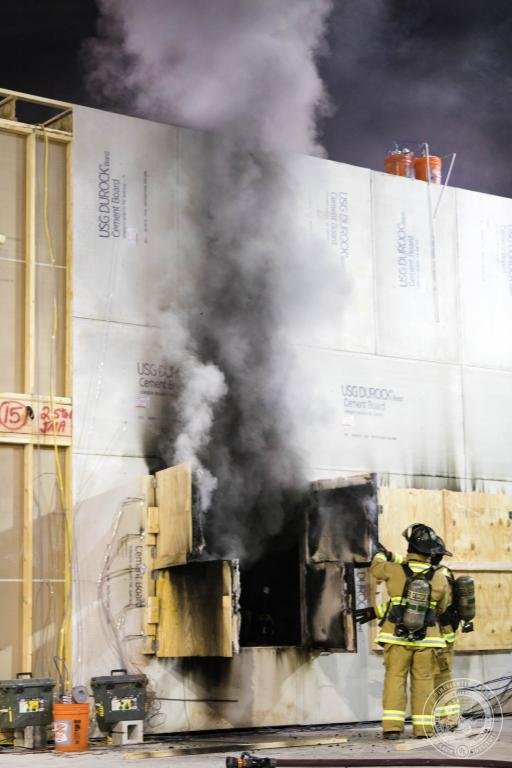 Impact of Ventilation on Fire Patterns