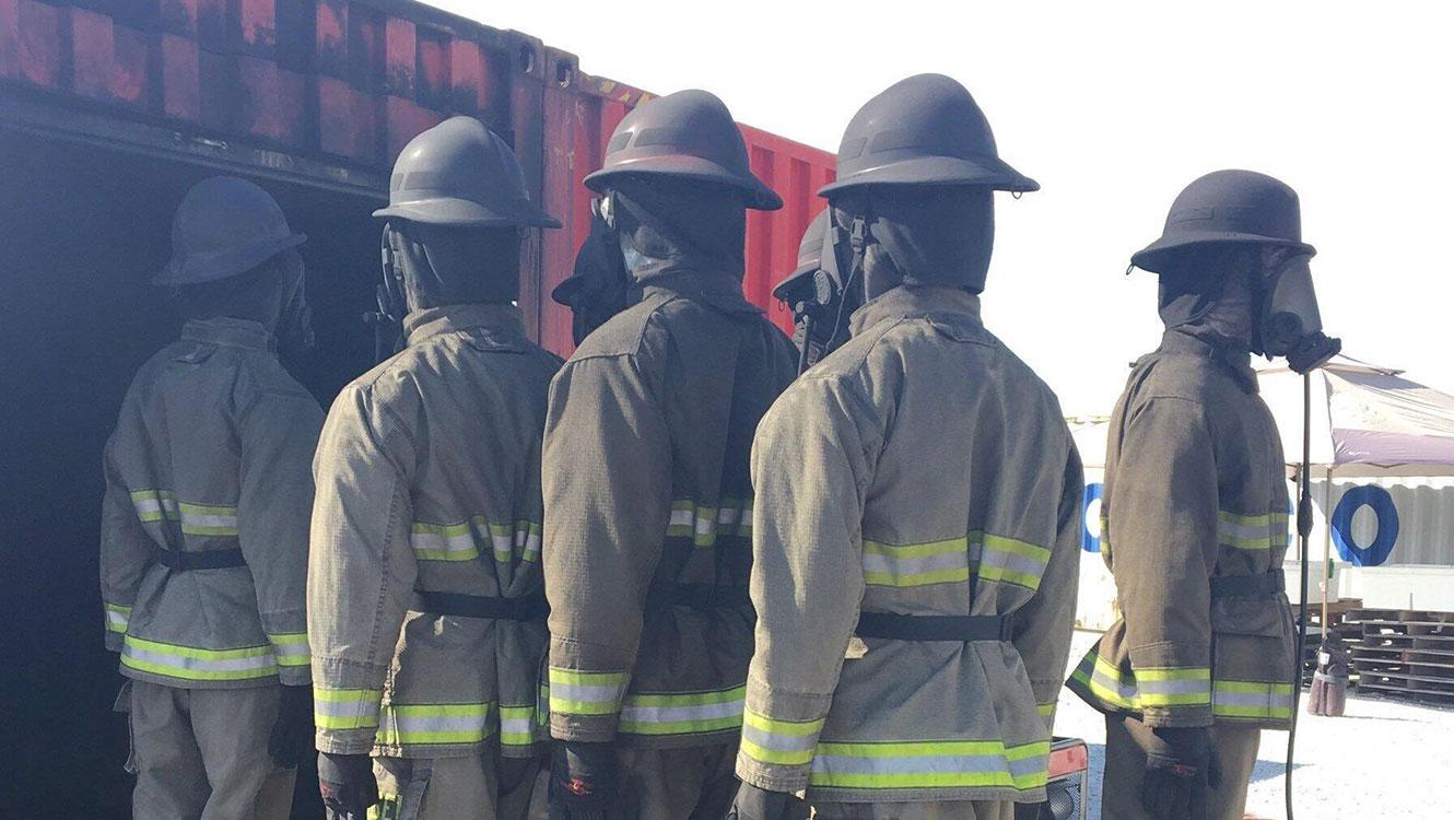 Live fire exposure, PPE, personal protective equipment, hood design, PPE protection, PPE cleaning, cleaning test protocols