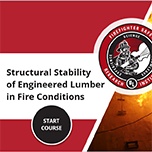 Structural Stability of Engineered Lumber Training Course Title Image